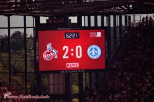 Auftaktsieg gegen Darmstadt