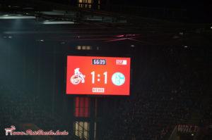 Punkteteilung gegen Schalke