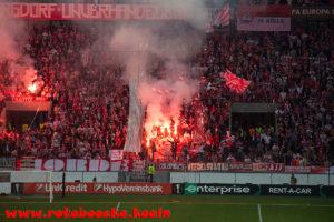 Foto Update vom ersten Europapokal Heimspiel nach 25 Jahren!